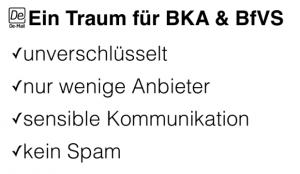 Ein Traum für BKA & BfVS
