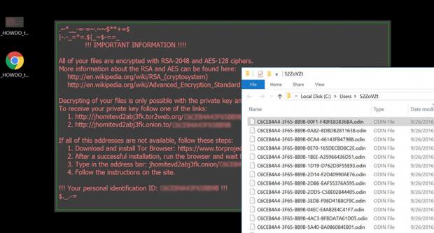 Odin Virus Ransomware