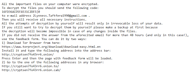 No_more_ransom-Virus README.txt