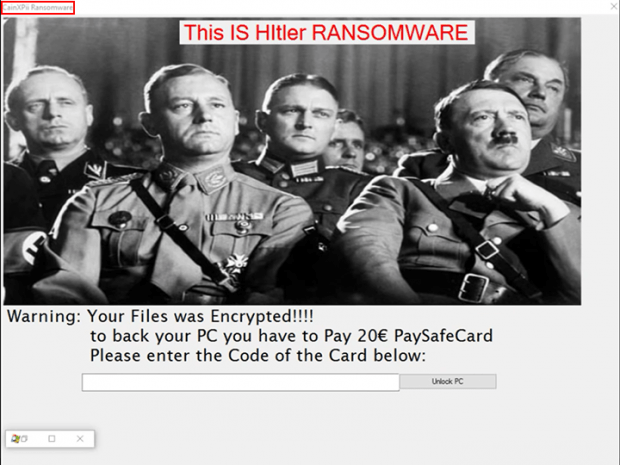 CainXPii Ransomware