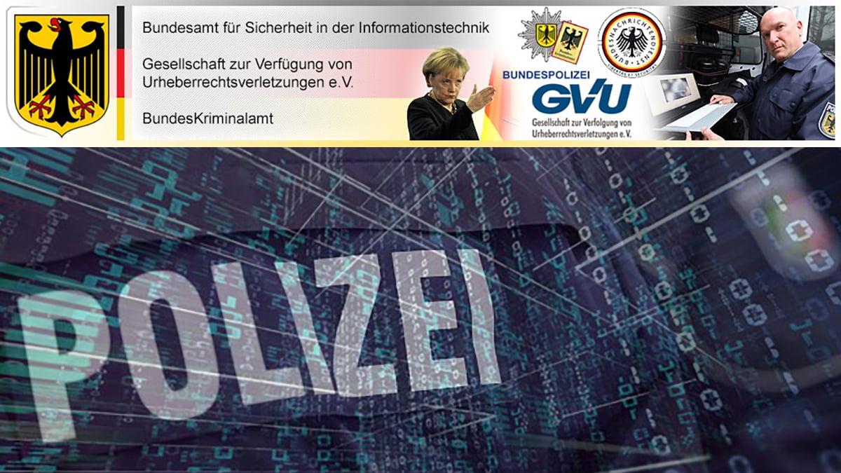 Bundespolizei Virus Android