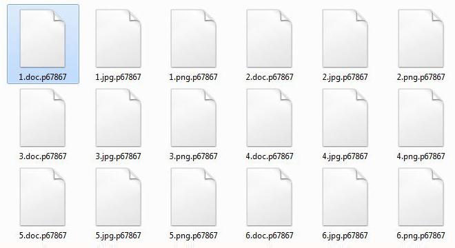 Sodinokibi Ransomware befällt verschlüsselte Dateien mit zufälliger alphanumerischer Erweiterung
