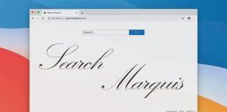 Entfernung des Virus Search Marquis